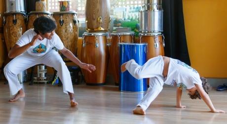 Brazivedas home studio capoeira game