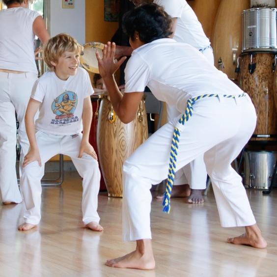 Brazivedas home studio capoeira